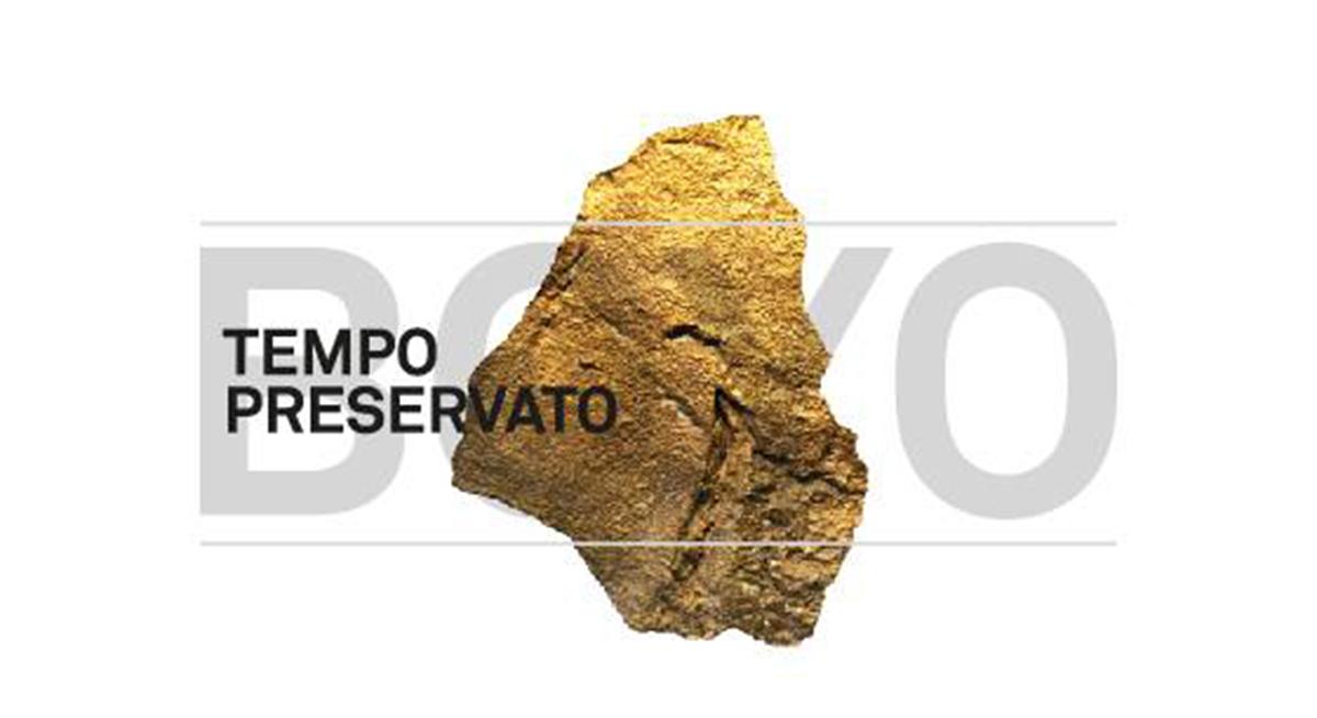 TEMPO PRESERVATO – BOYO – SABATO 17 SETTEMBRE 2016  ORE 19.00