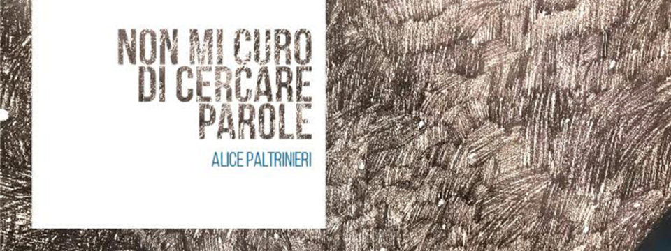Alice  Paltrinieri / Inaugurazione Venerdì 13 Aprile 2018  Ore 18.30
