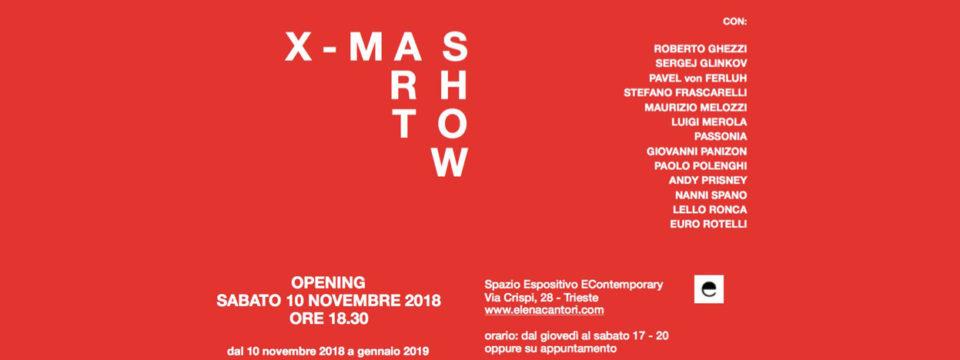 Inaugurazione mostra X-MAS ART SHOW